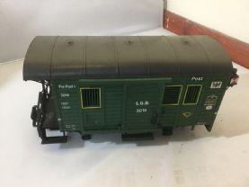 LGB G SCALE 32199 Post Wagon